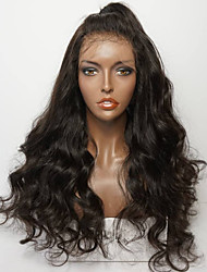 cheap -Human Hair Lace Front Wig Layered Haircut style Brazilian Hair Deep Wave Wig 130% Density with Baby Hair Natural Hairline For Black Women Unprocessed Women's Short Medium Length Long Human Hair Lace