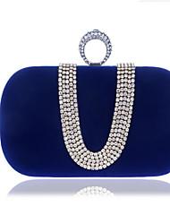 cheap -Women's Buttons Polyester Clutch Wedding Bags Black / Blue / Purple / Fall & Winter