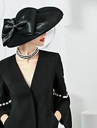 Недорогие -шерстяные шелковые шляпы головной убор свадебная вечеринка элегантный классический женский стиль