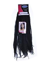 cheap -Braiding Hair Afro Afro Kinky Braids 100% kanekalon hair Kanekalon 1pc Hair Braids Medium Length Dreadlock Extensions