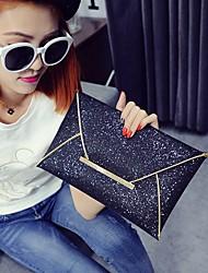 cheap -Women's Pocket PU Clutch Black / Champagne / Gold