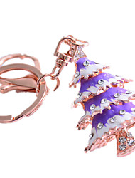 cheap -Key Chain Christmas Trees Christmas Novelty Zinc Alloy Unisex Toy Gift
