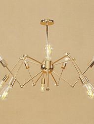 cheap -10-Light Pendant Light Ambient Light Electroplated Metal Mini Style, Adjustable, Designers 110-120V / 220-240V Bulb Not Included / E26 / E27