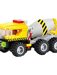 cheap -Building Blocks Model Building Kit Construction Truck Set Excavating Machinery Soft Plastic 1 pcs Kid's Toy Gift