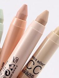 cheap -4 Colors Balm Pressed powder Concealer / Contour Dry / Matte / Mineral Concealer Women / Face Alcohol Free Makeup Cosmetic
