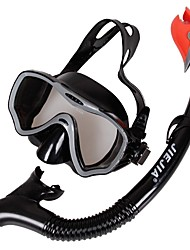 cheap -Snorkeling Set Anti Fog Dry Top Adjustable Strap Swimming Diving Snorkeling EPP  For  Adults