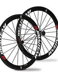 cheap -SHENHUA 700CC Wheelsets Cycling 23 mm / 25 mm Road Bike Carbon Fiber / Full Carbon Clincher 20/24 Spokes 50 mm