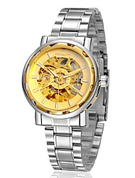 cheap -Men's Wrist Watch / Mechanical Watch Automatic self-winding Alloy Band