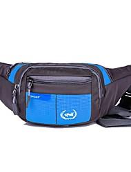 cheap -Hiking Waist Bag Multifunctional Waterproof Portable Lightweight Outdoor Camping / Hiking Hunting Climbing Nylon Red Blue Navy / Wear Resistance