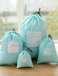 cheap -Travel Organizer Travel Luggage Organizer / Packing Organizer Travel Toiletry Bag Large Capacity Travel Storage Durable PVC(PolyVinyl Chloride) Gift For 44*30 30*22 22*15 14*11 cm