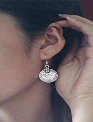 cheap -Women's Pendant Dangle Earrings Tassel Ladies Dangling Vintage Bohemian Euramerican Boho Earrings Jewelry Silvery For Daily Casual
