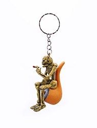 cheap -Keychain Yellow Rubber Alloy Vintage Rock For