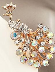 Недорогие -Синтетический алмаз Броши Животный принт Классика Циркон Брошь Бижутерия Золотой Назначение Подарок Для вечеринок