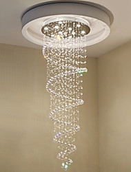 cheap -10-Light 70 cm Crystal Chandelier Metal Electroplated Chic & Modern 110-120V / 220-240V