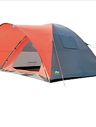 cheap -6 person Family Tent Outdoor Windproof Double Layered Camping Tent 2000-3000 mm for Camping / Hiking Fishing Camping / Hiking / Caving 300*280*170 cm