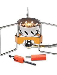 cheap -Camping Burner Stove Single for Stainless Steel Copper Outdoor Camping / Hiking Picnic BBQ