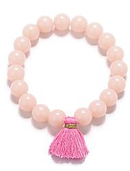 cheap -Women's Bracelet Bangles Bead Bracelet Elegant Acrylic Bracelet Jewelry Black / Red / Pink For Casual Festival