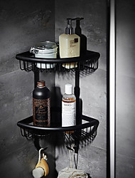 cheap -Bathroom Shelf High Quality Modern Metal 1 pc - Hotel bath Wall Mounted