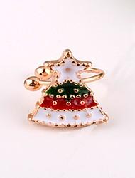 cheap -Women's Stud Earrings Clip on Earring Star Ladies Earrings Jewelry Red For Christmas Gift