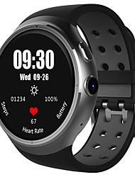 Недорогие -KING-WEAR® LEMFO-LES1 Мужчины Смарт Часы Android WIFI 3G GPS Водонепроницаемый Пульсомер Сенсорный экран Израсходовано калорий / Длительное время ожидания / Хендс-фри звонки / Таймер / Секундомер