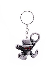 cheap -Keychain Gray Rubber Alloy Simple Vintage For