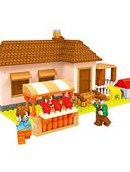 abordables -AUSINI Blocs de Construction 293 pcs Thème jardin Thème de conte de fées Niches compatible Legoing Adorable Garçon Jouet Cadeau