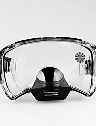 cheap -Diving Mask Waterproof Two-Window - Swimming PET - For Black / Anti Fog / Dry Top
