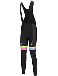 cheap -Miloto Women's Cycling Bib Tights Bike Bib Tights Pants Sports Winter White / Black Road Bike Cycling Clothing Apparel Relaxed Fit Bike Wear / Stretchy
