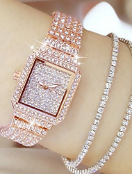 cheap -Women's Luxury Watches Diamond Watch Gold Watch Quartz Ladies Casual Watch Analog Rose Gold Gold Silver / Stainless Steel / Stainless Steel / Japanese / Japanese
