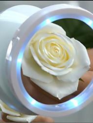 abordables -Miroir à maquillage Miroirs cosmétiques Maquillage 1 pcs Autre matériel Rond Cosmétique Accessoires de Toilettage