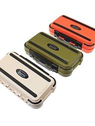 Недорогие -Коробка для рыболовной снасти Коробка для рыболовной снасти Водонепроницаемый пластик 20 cm*11 см*5 cm