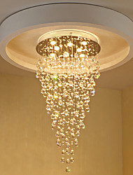 cheap -8-Light 60 cm Crystal / Bulb Included / Designers Chandelier Metal Electroplated Chic & Modern 110-120V / 220-240V