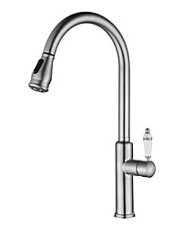 cheap -Kitchen faucet Nickel Brushed Vessel Modern Contemporary Kitchen Taps / Stainless Steel