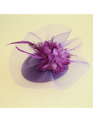cheap -Flannelette / Fabric Fascinators / Hats with 1 Wedding / Party / Evening / Horse Race Headpiece