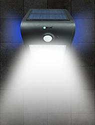 cheap -BRELONG 1 pc 2W LED Human Body Sensor Waterproof Outdoor Flood White Light Golden/White/Silver/Black