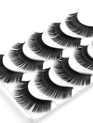 abordables -Cil Faux Cils 10 pcs Dense Bouclé Extra Longue Fibre Quotidien Cils Entiers Epais - Maquillage Maquillage Quotidien Cosmétique Accessoires de Toilettage