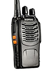 cheap -BAOFENG BF-888S UHF FM Transceiver High Illumination Flashlight Walkie Talkie Two Way Radio Intercom 16CH Handheld Radio Built in LED Torch Microphone Super Sound Quality