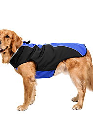 cheap -Dog Coat Winter Dog Clothes Red Blue Gray Costume Polar Fleece Solid Colored Casual / Daily Keep Warm Sports S M L XL XXL XXXL