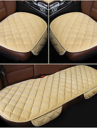 cheap -Car Seat Cushions Seat Cushion Pad Car Seat protection Cover accessories Car chair Cover Beige / Gray / Coffee Polyester Common For universal