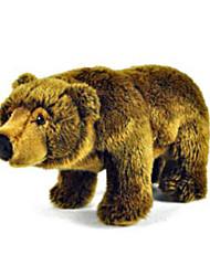 cheap -Teddy Bear Bear Animal Stuffed Animal Plush Toy Handcrafted lifelike Cute Lovely Gift