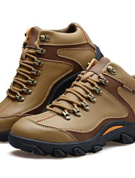 cheap -Men's Hiking Shoes Mountaineer Shoes Hiking Boots Waterproof Breathable Low-Top Running Hiking Climbing Autumn / Fall Winter Brown Coffee Khaki