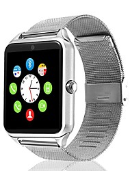cheap -GT09 Smart Watch Steel Stainless Bluetooth Fitness Tracker Support Notify/ Heart Rate Monitor Sports Smartwatch Compatible with IPhone/ Samsung/ Android Phones