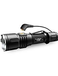Недорогие -KLARUS XT12S Светодиодные фонари 1600 lm - Cree® излучатели Руководство Режим освещения Для профессионалов Простота транспортировки