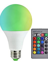 cheap -1pc A80 RGB LED Lamp 10W E27 RGB LED Light Bulb SMD5050 Multiple Color Remote Control Lampada LED AC85-265V