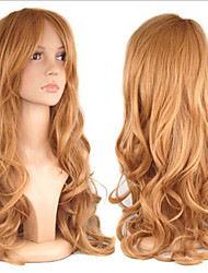 cheap -Cosplay Costume Wig Synthetic Wig Curly Curly Wig Blonde Long Brown Synthetic Hair Women's Blonde