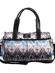 cheap -FODOKO 26 L Yoga Mat Bag - Yoga, Pilates, Fitness Wearable Leather, Nylon Purple