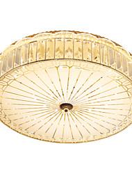 cheap -40 cm Crystal / Bulb Included Flush Mount Lights Metal Electroplated LED 110-120V / 220-240V