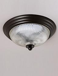 cheap -1-Light MAISHANG® 33.5 cm Designers Flush Mount Lights Metal Glass Modern Contemporary 110-120V / 220-240V / E26 / E27