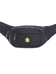 cheap -2 L Waist Bag / Waistpack Multifunctional Wear Resistance Outdoor Hunting Fishing Hiking Cloth Nylon Black Red Blue