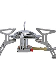 cheap -Camping Burner Stove Single for Stainless Steel Aluminium Alloy Outdoor Camping / Hiking Picnic BBQ